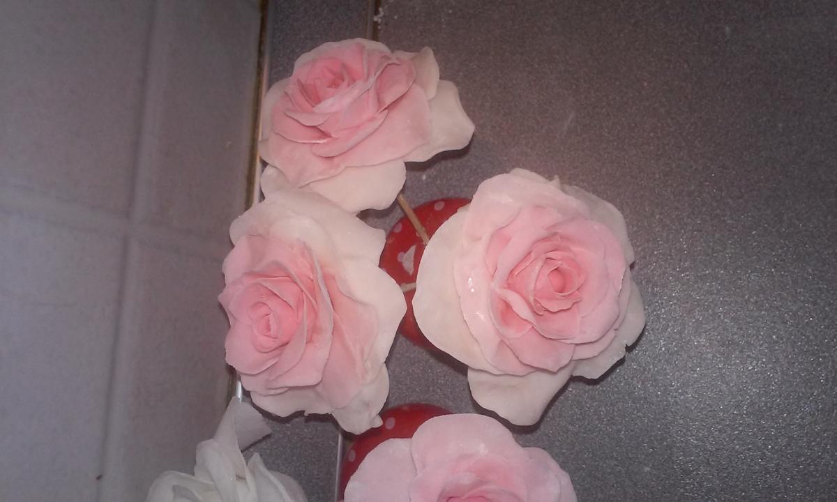 Как сделать цветок из мастики в домашних условиях 296