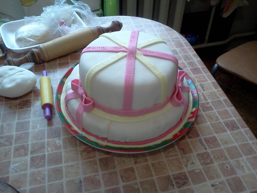 рецепт молочной мастики для торта пони