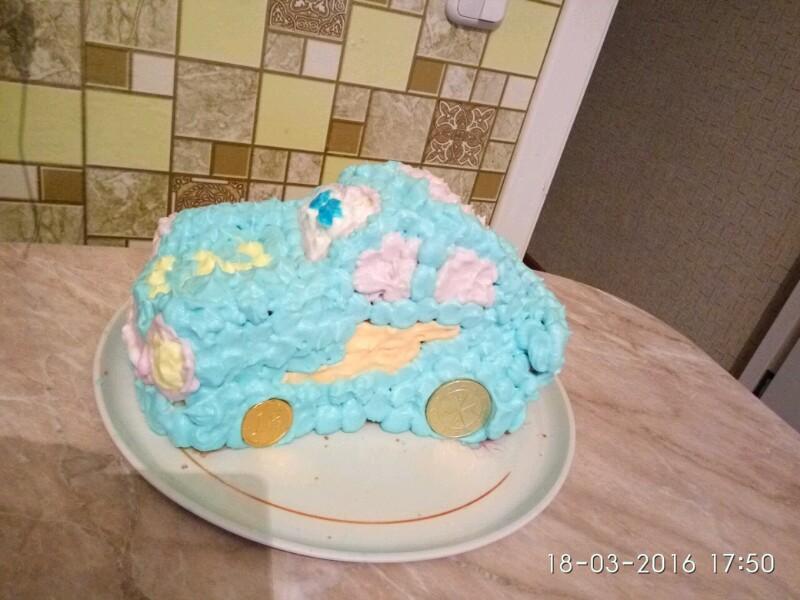 Торт из крема пошагово