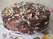 торт сметанник домашний