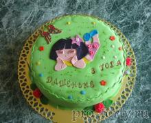 торт с Дашей