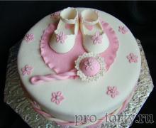 торт на 1 год девочке