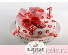 торт для девочки 1 год
