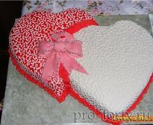 свадебный торт бело-розовый