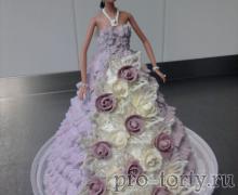 торт Принцесса из крема