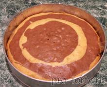 бисквит со сметаной фото