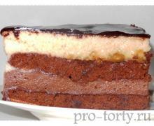 французский торт Intimite фото