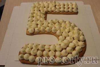 приготовление крема для торта цифра 5