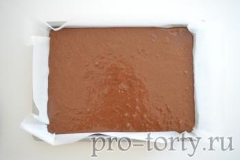 приготовление смеса для выпечки торта Делиция