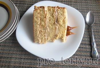 карамельный торт рецепт