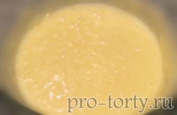 заварной крем с молоком фото