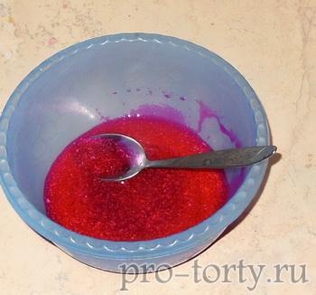 цветное кружево для торта