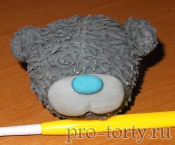 мишка тедди из мастики пошаговое фото