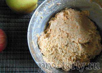 рецепт морковного диетического торта