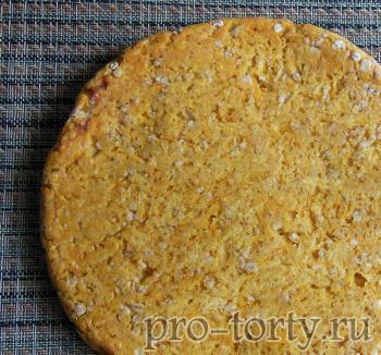 рецепт морковного диетического торта с фото