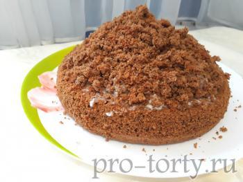 украшение торта норка крота