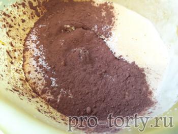 процесс приготовления торта норка крота