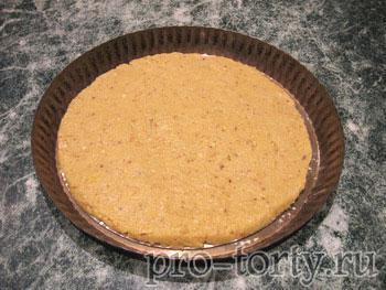 сборка орехового торта