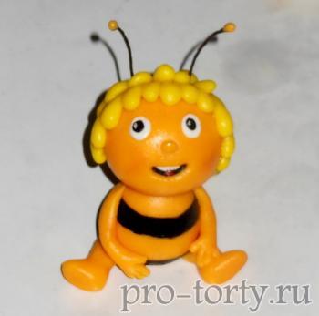 пчелка Майя из мастики фото