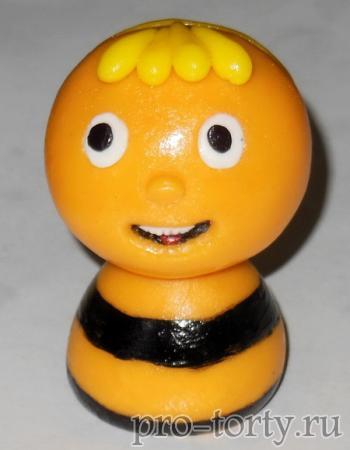 мастер-класс лепки пчелки