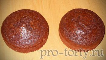 коржи для шоколадного торта