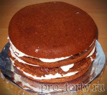 вкусный шоколадный торт - рецепт с фото
