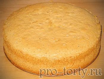 простой бисквит для торта фото