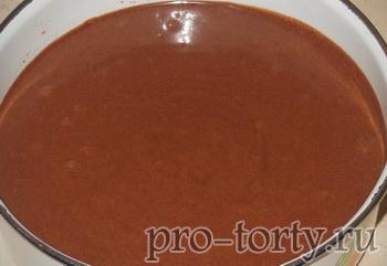 быстрый рецепт шоколадного бисквита