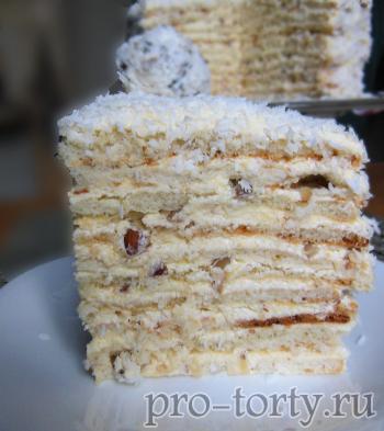 торт рафаэлло домашний рецепт с фото
