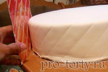 оттиск ромбы для торта