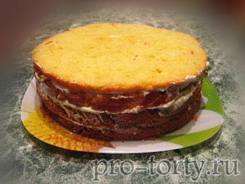 торт с творогом рецепт
