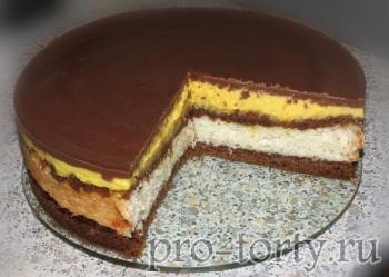 торт Баунти рецепт и приготовление