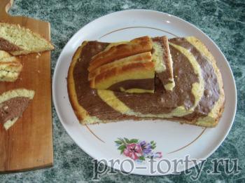 торт машинка - сборка, вид сбоку