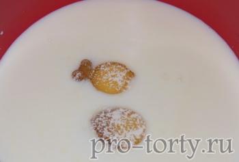приготовление крема в торт наполеон