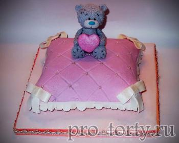 торт подушка из мастики фото