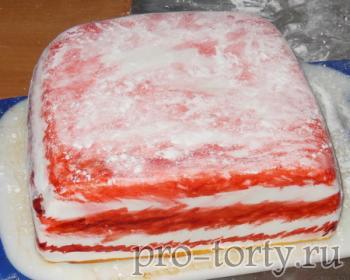 мастер-класс торт сало