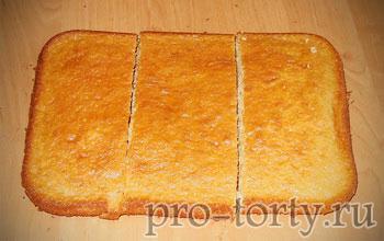 бисквит для торта сумочка