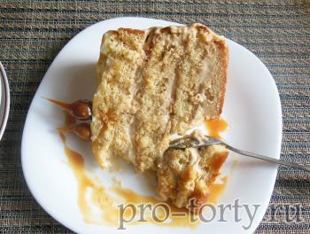рецепт карамельного торта