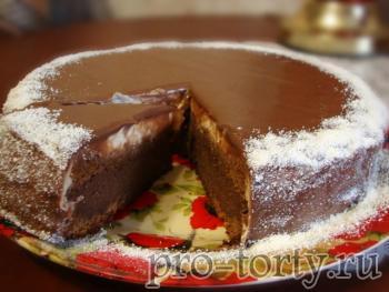 торт Капучино фото