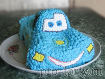 мастер-класс торт машинка