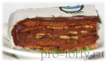 торт Трюфель в разрезе фото